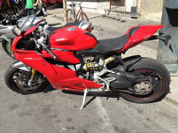 Ducati Panigale spotted in the wild!