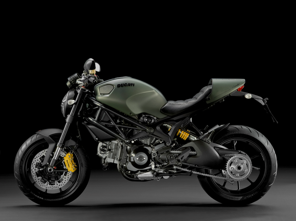 2013 Ducati Monster Diesel - left view
