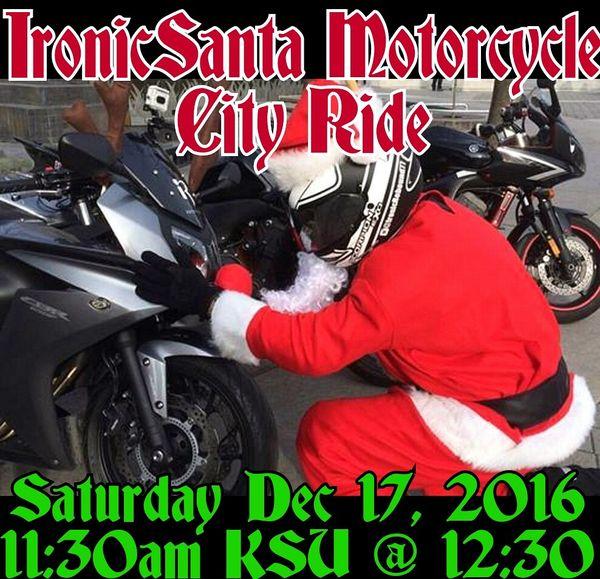 Toronto Santa City Ride