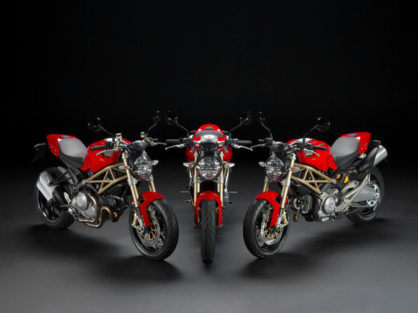 20th Anniversary Ducati Monster 696, 796 & 1100evo