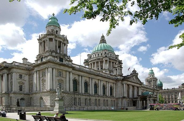 Belfast city hall, Ireland