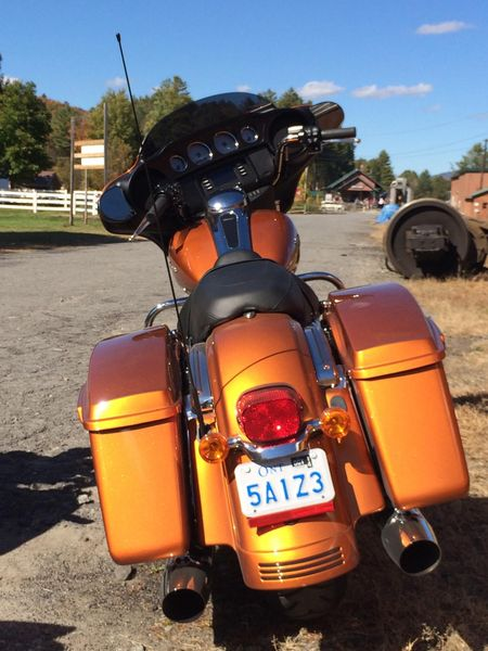Street Glide 2014 - In fill panels make for a nice rear