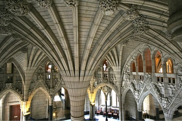 Inside Centre Block (CDN Parliament)