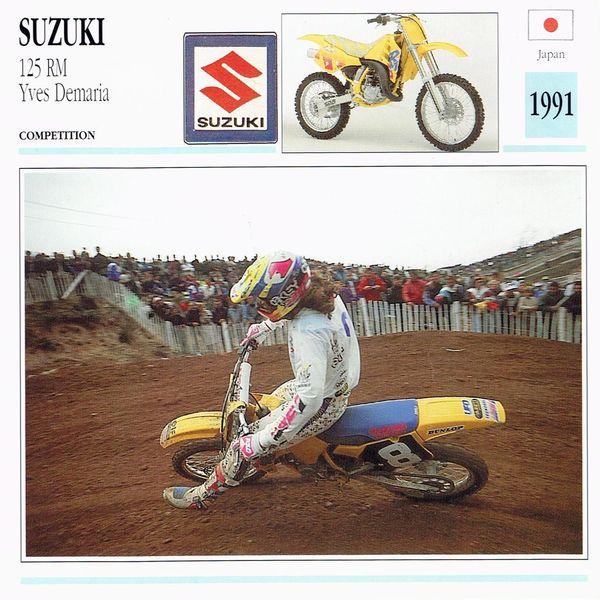 Suzuki 125 RM card