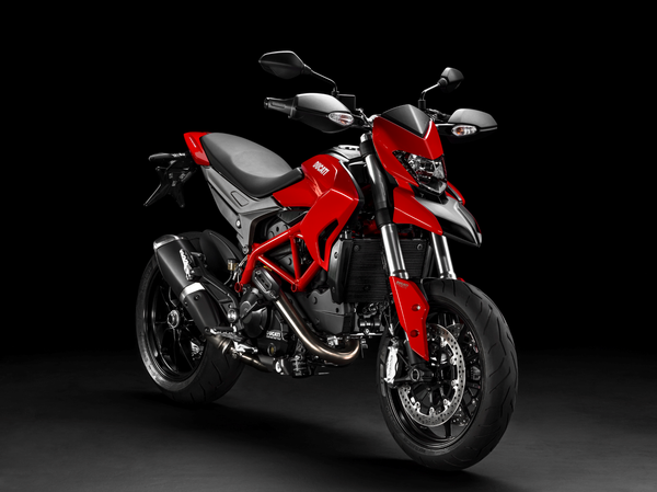 2013 Ducati Hypermotard - front quarter view
