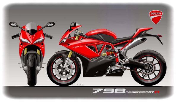 Mid-Size Ducati Concept