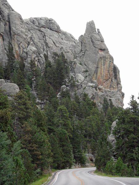Rock Formation South Dakota Highway 244