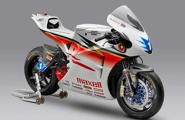 Mugen Shinden's Fully Electric TT Racer