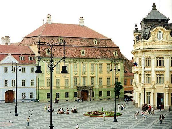 Brukenthal museum, Sibiu, Romania