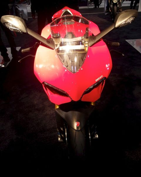 Ducati 1199 Pinagle S - Front on