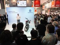 Behind the Scenes at the EICMA Motorcycle Show in Milan