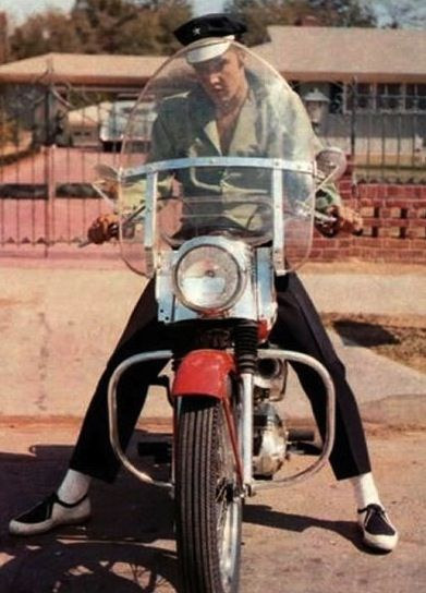 Elvis Motorcycle Racing Bars