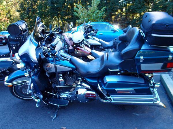 Harleys at Fallingwater