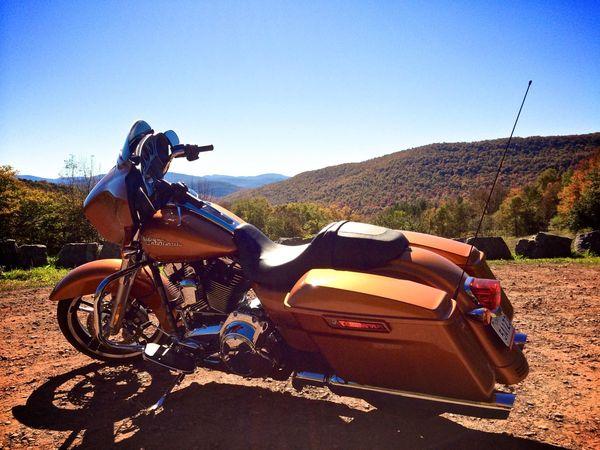 FLHX Street Glide 2014 in the Catskills, NY