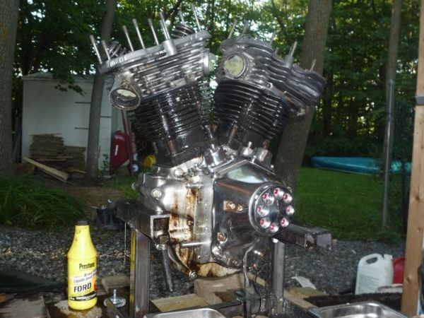 Shovel motor I am putting in my bobber project