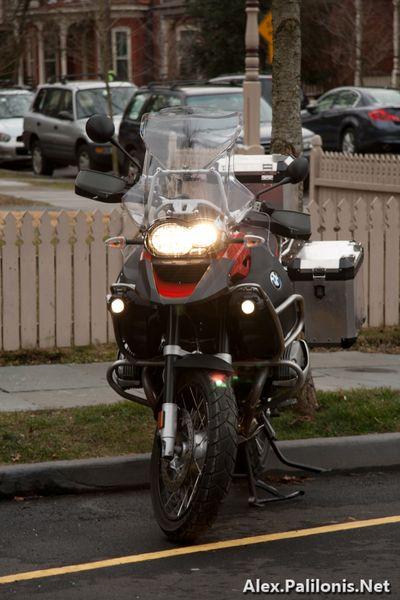 BMW R1200GSA Front