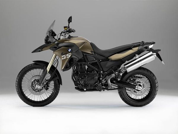 2013 BMW F800GS - left side view
