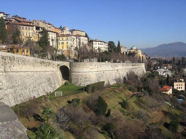 Venetian Walls, Bergamo, Italy