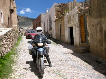 A smooth road in Real de Catorce