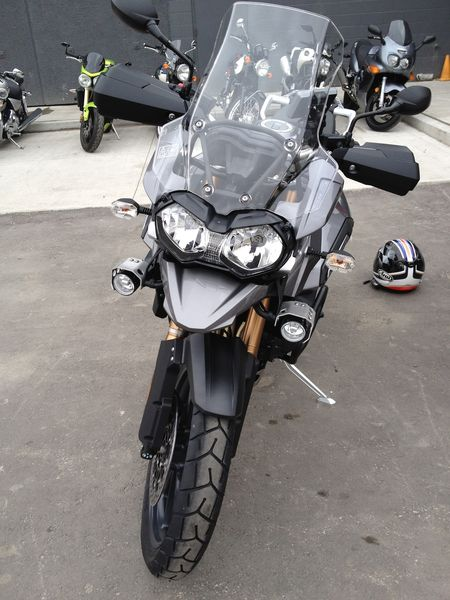 Tiger 1200 Explorer Front - Not an R1200GS