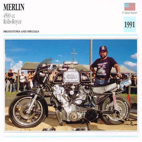 Merlin 4500CC Card