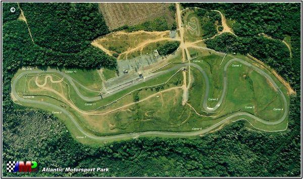Atlantic Motorsports Park overhead
