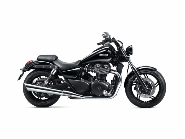 2013 Triumph Thunderbird Storm - right side view