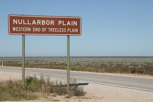 Nullarbor Plains Sign