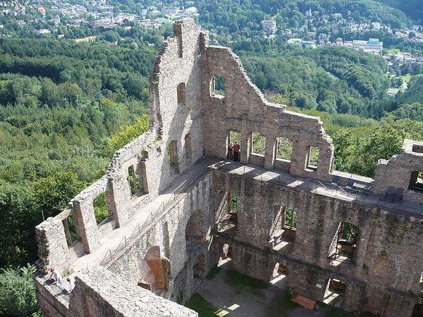 Hohenbaden Ruins Germany