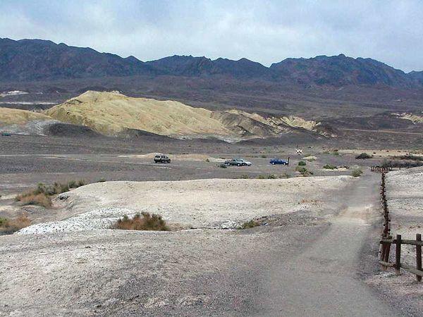 Death Valley salt