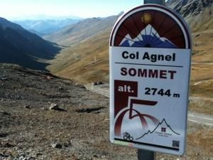 The summit at Col Agnel