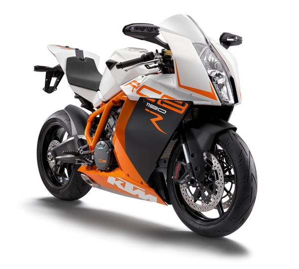 2013 KTM 1190 RC8 R - front quarter view