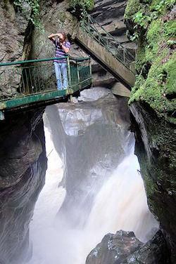 The Gorge in Bellano, Italy