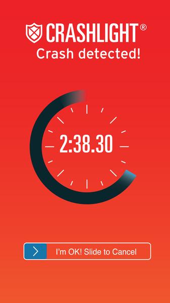 Crash Detected - EatSleepRIDE Motorcycle GPS App