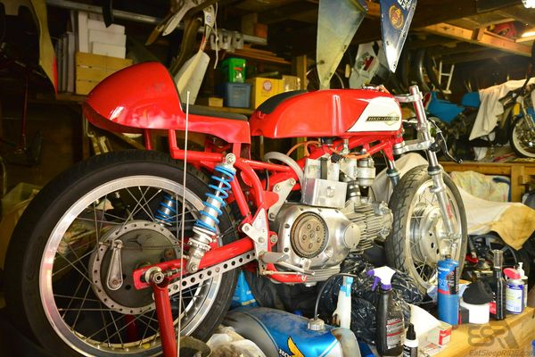 1961 Harley Davidson 250 Aermacchi Sprint | Bike | EatSleepRIDE