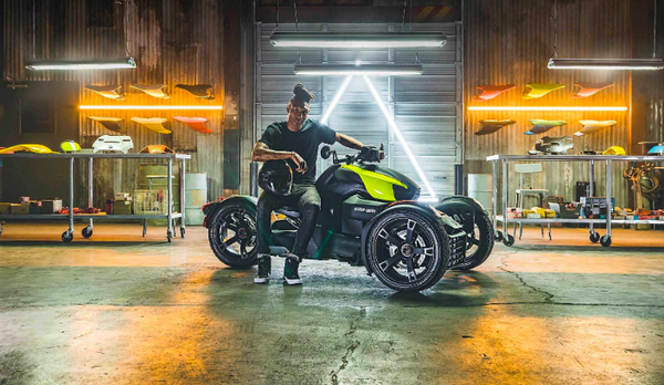 """This Week In Motorcycling: Brp's """"Ryker"""" Trike, H-d's New"""