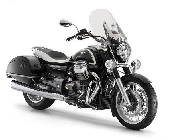 2013 Moto Guzzi California 1400 Touring Ambassador - front quarter view