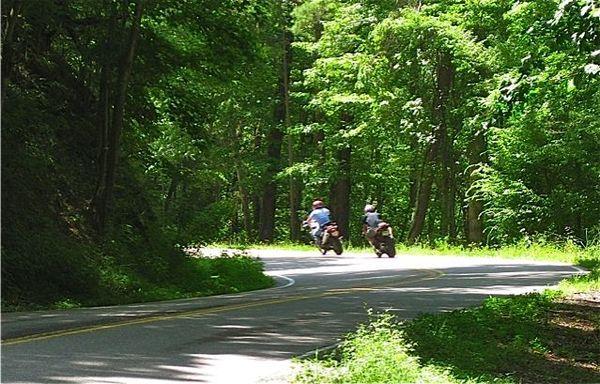 Route 129 curve 217