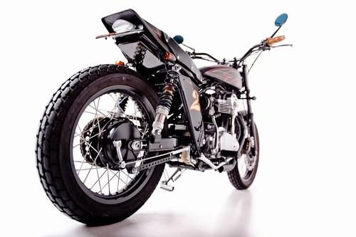 Garage Project Motorcycle's Street Tracker - wheels