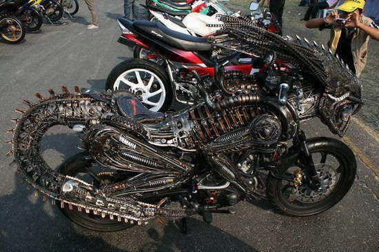HR Giger Alien Bike