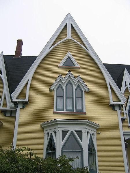 Victorian Houses in Yarmouth, Nova Scotia