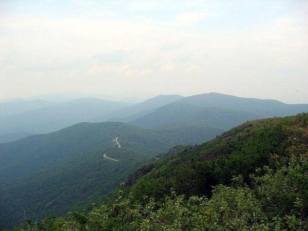 Stony Man Trail summit, Shenandoah National Park