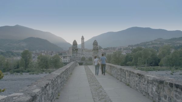 Italian village vista by Jeffrey Zani for EatSleepRIDE