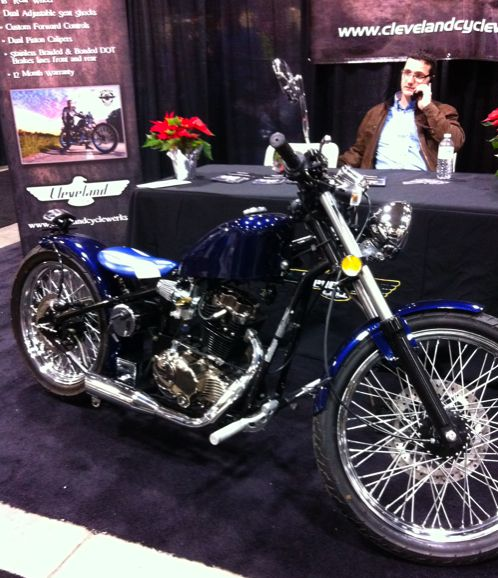The Cleveland Ice 250 bobber, from China