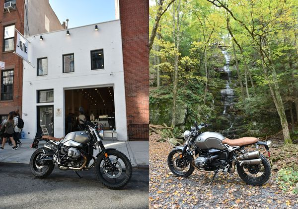 At Home in Town or Country - BMW RnineT Scrambler