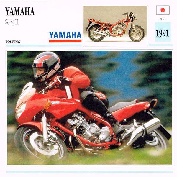 Yamaha Seca II card