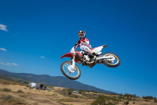 2013 Honda CRF450R - in the air
