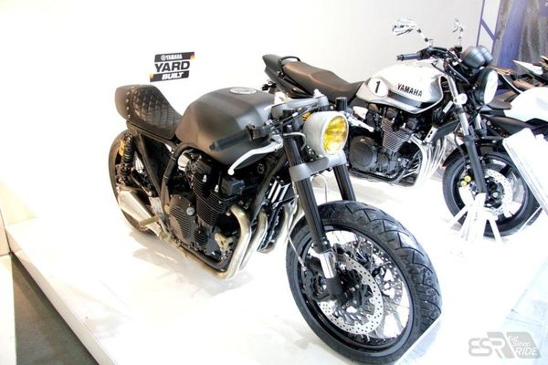 Wrenchmonkees XJR1300 at EICMA in Milan, Italy