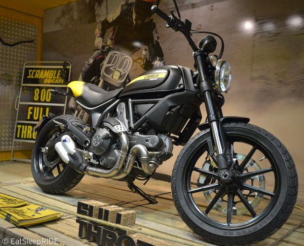 Full Throtle Ducati Scrambler 2015