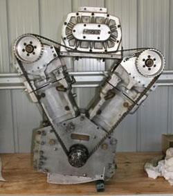 Merlin 4500 cc Rolls-Royce engine